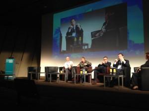 (c) Angers Rives Nouvelles / Frédéric Béatse, maire d'Angers, était présent au 13e Forum des projets urbains, ce mardi 12 novembre, à Paris.
