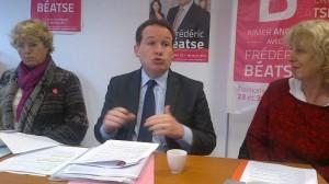 Credit AM - Frédéric Béatse , maire et candidat aux prochaines élections municipales à Angers