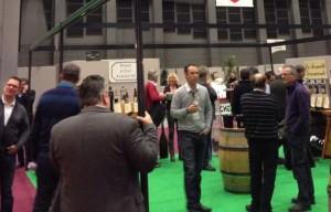 Credit ML / Les viticulteurs bio présents sur le Salon des  vins de Loire