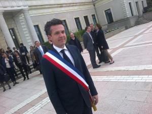 Christophe Béchu, élu nouveau maire d'Angers
