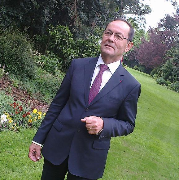 Christian Gillet,  président du Conseil Général de Maine-et-Loire.