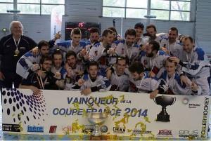 Treize ans après, Angers remet les mains sur la Coupe de France de Roller Hockey
