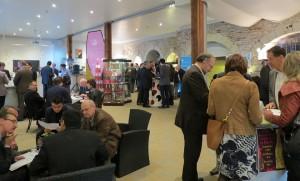 Hier soir, 80 chefs d'entreprise se sont prêtés au speed meeting professionnel organisé conjointement par le MEDEF Anjou et le MEDEF Touraine à Saumur