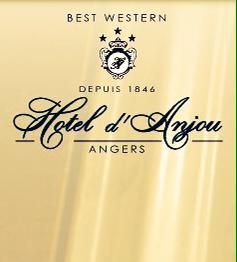 l'Hôtel d'Anjou Bd Foche à Angers