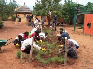 Chantier de coopération Angers-Bamako 2004