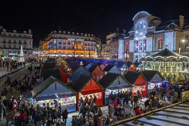 Credit Thierry Bonnet /Ville d'Angers . Soleils d'Hiver à Angers :A Angers, les commerces devraient ouvrir les deux dimanches avant Noël.