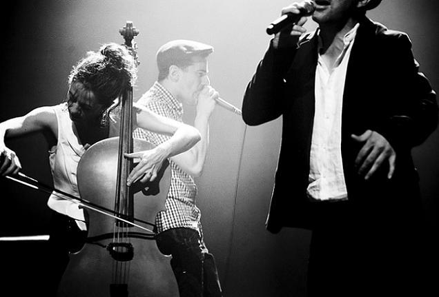 Credit Juliette Rozonelli - Tremplin Tempo Rives à Angers : le groupe Babel coup de cœur du public