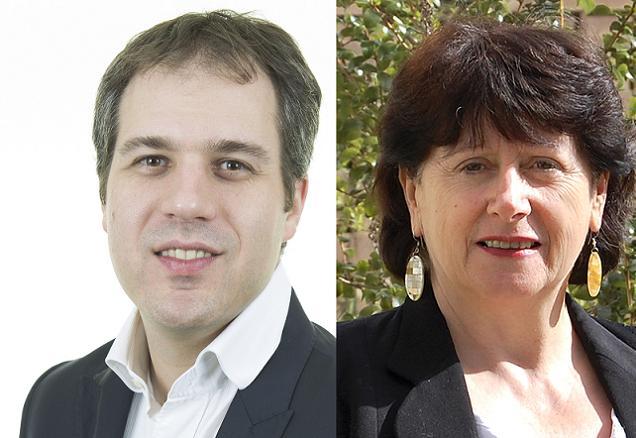 Gregory Blanc et Marie-France Renou, candidats sur le canton N°7 (Angers)