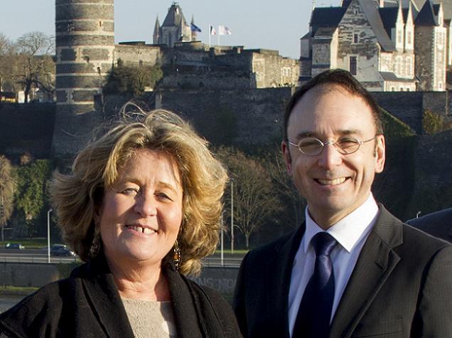 Nathalie PARENT et Florian CHAUVIN, candidats sur le canton N°1 (Angers)