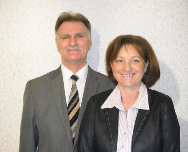 Christian Raiteux et Christine Barré, candidats sur le canton N°9 (Beaupréau)