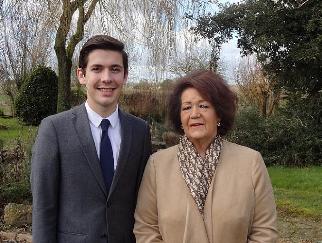Danielle Duret et Aymeric Merlaud, candidats sur le canton N°18 (Saint-Macaire-en-Mauges)