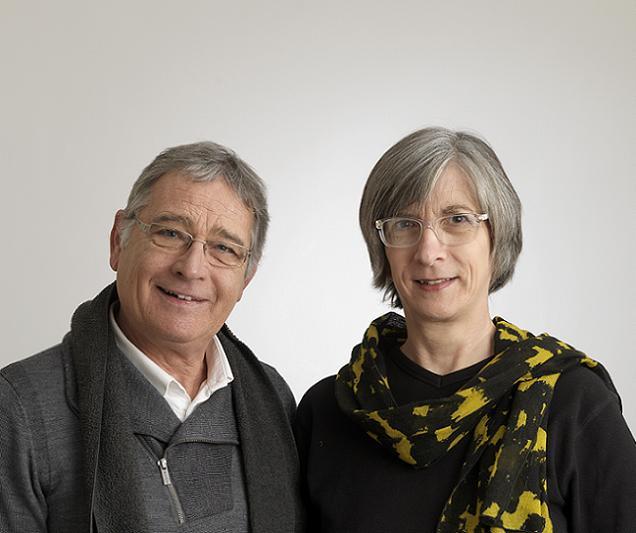 Mme BENARD Nathalie et M. DELAUNAY Dominique, candidats sur le canton N°5 (Angers)