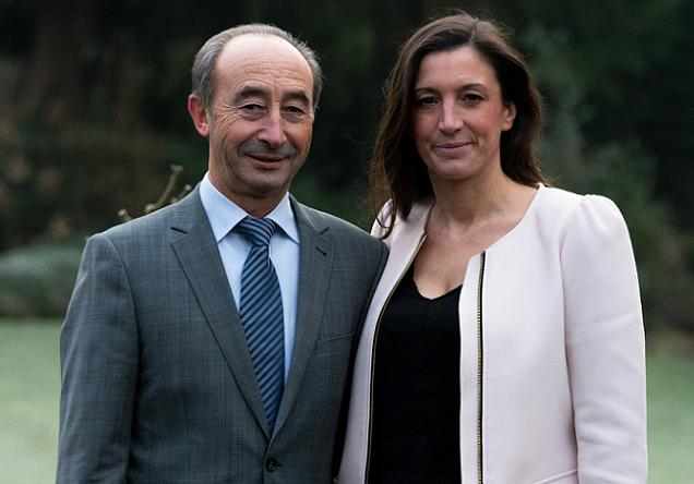 Marc Cailleau et Caroline Fel, candidats sur le canton Angers 5