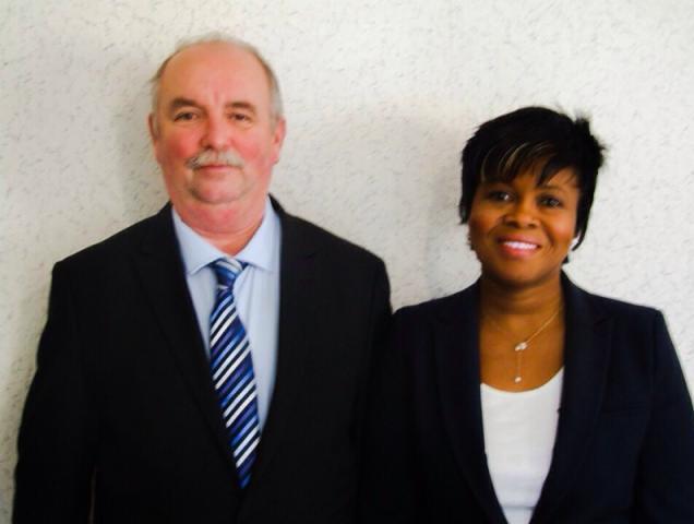 Lucie Pineau et Jean-Marc Macé, candidats sur le canton N° 12 (Cholet 1)