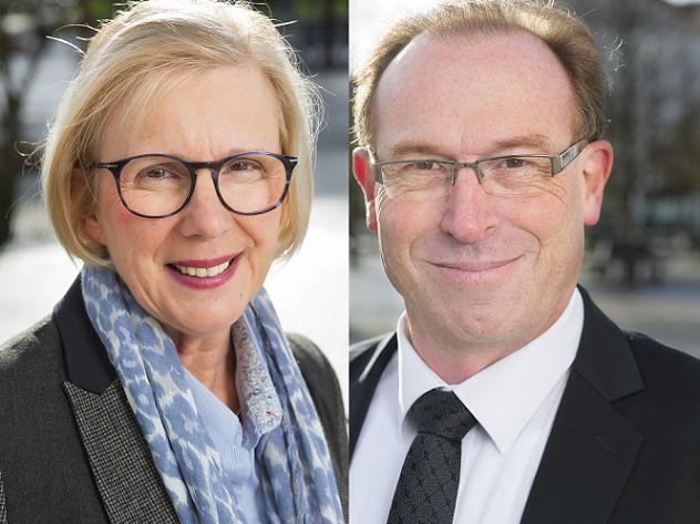 Marie-Hélène CHOUTEAU et Jean-Luc ROTUREAU, candidats sur le canton N° 4 (Angers)