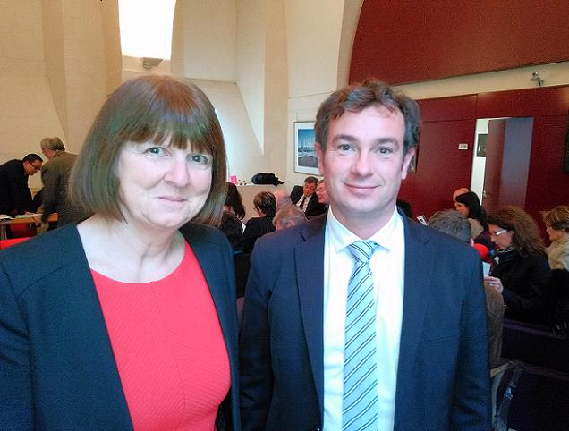 Pascal Houdemont et Maryse Chrétien, candidats sur le canton N°7 (Angers)