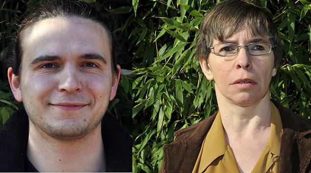 Natacha Bleu-Combelles et Julien Gaboriau, candidats sur le canton N°3 (Angers)