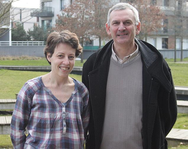 Nathalie Courtecuisse et Laurent Girard, candidats sur le canton N°11 (Chemillé-Melay)