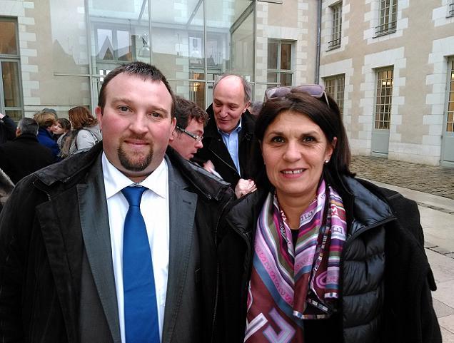 Régine Arribérouge et David Colin, candidats sur le canton N°17 (Les Ponts-de-Cé)