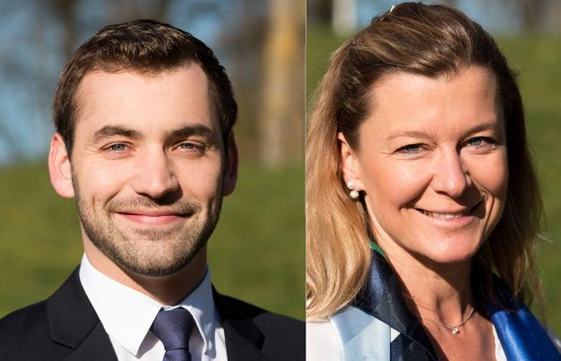 Philippe de la Bigne et Karine Engel, candidats sur le canton N°4 (Angers)