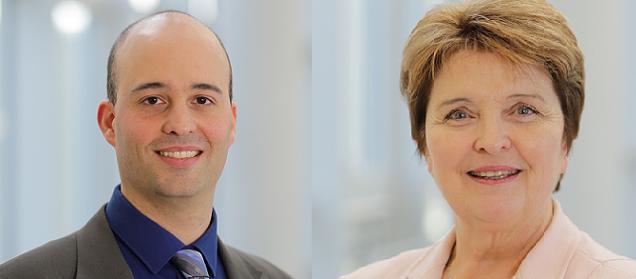 Michelle Moreau et Franck Poquin, candidats sur le canton N°3 (Angers)