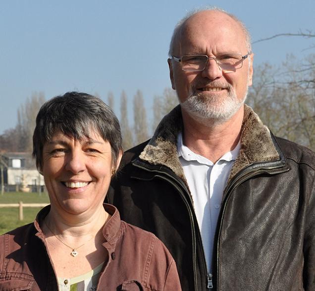 Martial Ruppert et Christelle Janneau, candidats sur le canton N°10 (Chalonnes-sur-Loire)