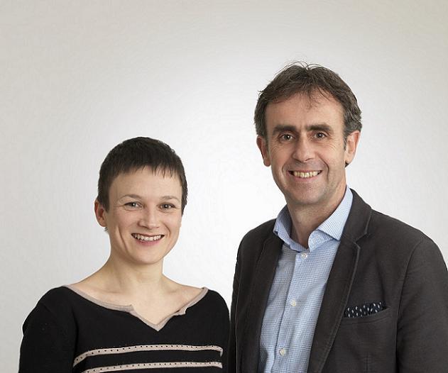 Virginie Brochard et Vincent Dulong, candidats sur le canton N°1 (Angers)