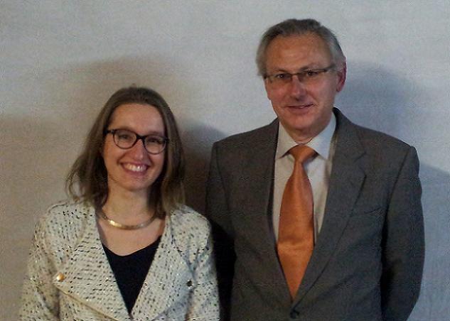 Camille Guillermet et Patrick Morineau, candidats sur le canton N°2 (Angers)