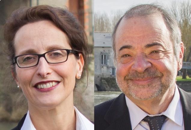 Marc Bérardi et Rachel Capron, candidats sur le canton N°6 (Angers)