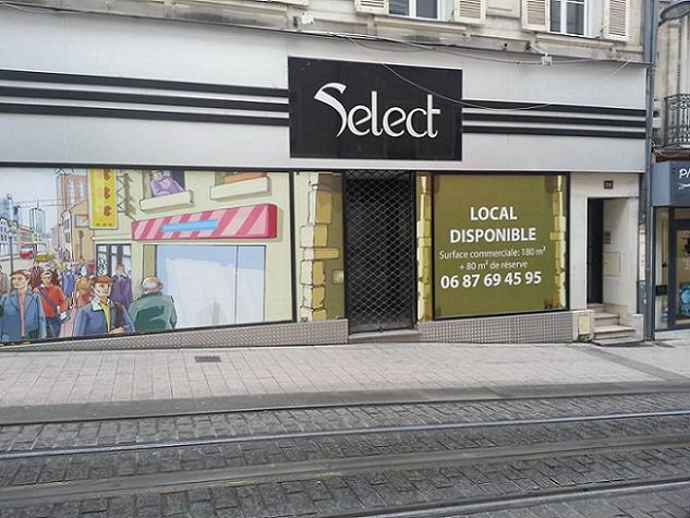 Angers: le manque d'attractivité du centre ville pousse certains commerçants a fermer leur porte , au vue d'une affluence décevante