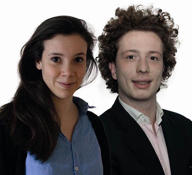 Hermine Gosset et Jean-Eudes Gannat, candidats sur le canton N°7 (Angers)