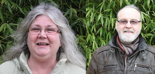 Laurent Gerard et Dominique Feuvrais, candidats sur le canton N°10 (Chalonnes-sur-Loire)