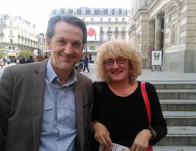 Norma Mevel Pla et Philippe Gaudin, candidats sur le canton N°2 (Angers)