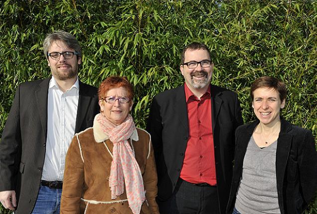 Alain Pagano et Chantal Duffoui, candidats sur le canton N°7 (Trélazé)