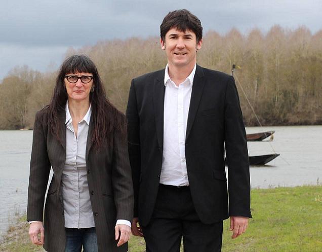 Brigitte Guglielmi et Jean Paul Pavillon, candidats sur le canton N°17 (Les Ponts-de-Cé)