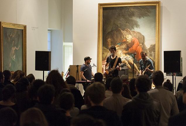 Credit Musées d'Angers - Cherry PLum en concert au Musée des Beaux Arts