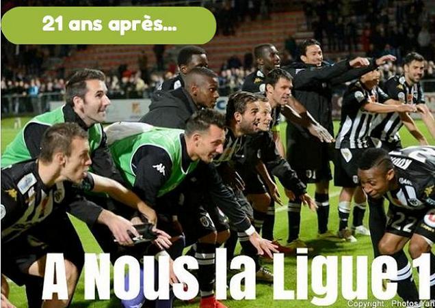 21 ans après, Angers SCO retrouve la Ligue 1 ! Le SCO termine en fanfare sous l'impulsion de Clémence, qui signe un doublé.