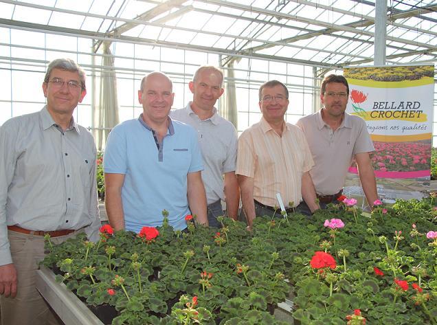 Fusion de 2 entreprises horticoles angevines : BELLARD-CROCHET et les FLEURS de L'AUTHION