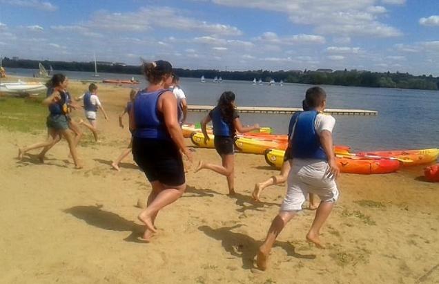 Angers . Ça bouge au Lac de Maine cet été!
