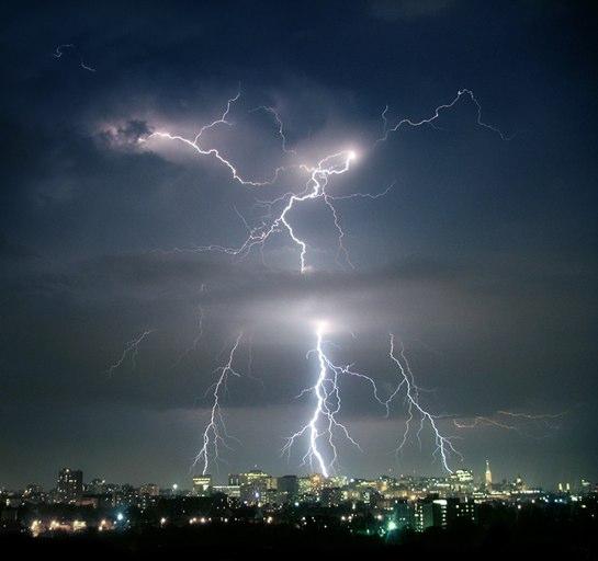 Vigilance aux orages ce soir le Maine-et-Loire.