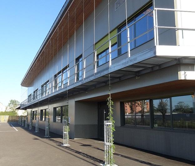 Inauguration de la 2e phase du groupe scolaire Aimé Césaire.