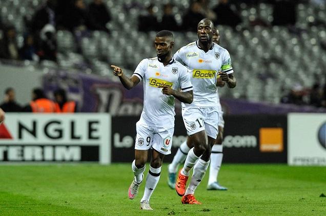 Credit LFP- Camara n'aura pu mener à l'égalisation une attaque angevine plutôt inoffensive ce soir à Monaco.