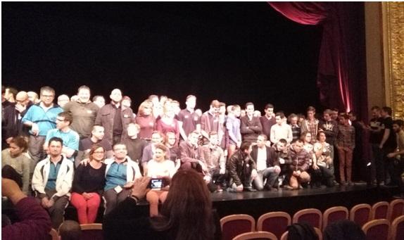 Credit MB . Les sportifs angevins mis à l'honneur au Grand Théâtre d'Angers