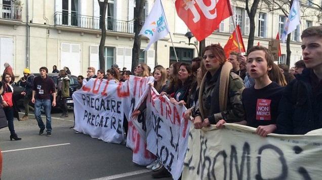 La Manif de la loi Travail à Angers