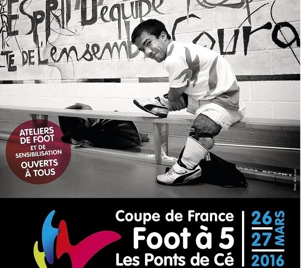 Coupe de France de Foot à 5 Handisport, le 26 et 27 mars 2016