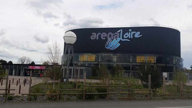 Credit EE - L'arena Loire de trélazé accueille la Fed Cup en fin de semaine.