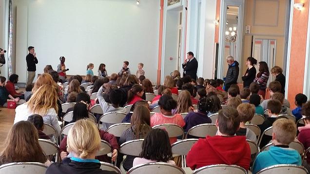 Les enfants découvrent « Où  il fait bon lire » à Angers