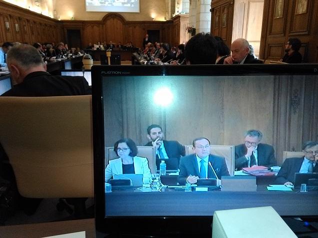 Credit AM - Maine-et-Loire.Vives discussions autour du rapport de la Cour des Comptes au conseil départemental