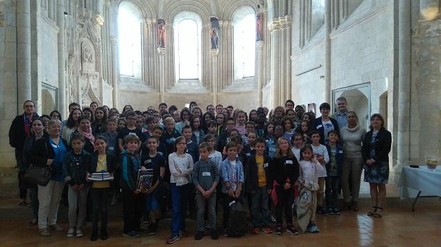 Remise des prix du concours départemental « Montrer l'Histoire » avec la présence de 150 élèves du département