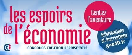 « les Espoirs de l'économie édition 2016 » ! en Maine-et-Loire